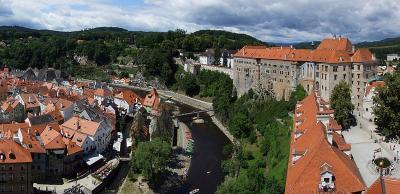 Panorama - Český Krumlov